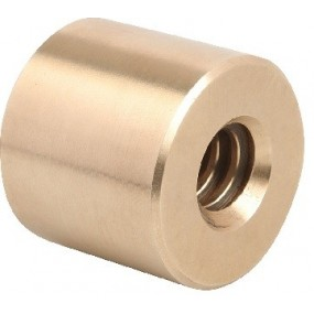Nakrętka cylindryczna brąz Tr10x2 prawa